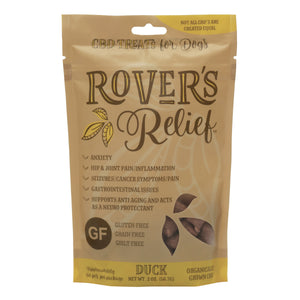 Rover's Relief CBD Treats DUCK - 1MG - 100% THC Free FOR DOGS