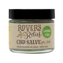 Load image into Gallery viewer, Rover's Relief 500MG CBD Topical Salve FOR PETS