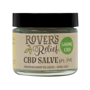 Rover's Relief 500MG CBD Topical Salve FOR PETS