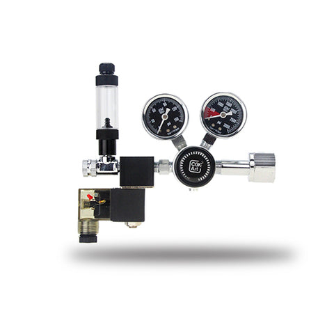 CO2Art - Pro-Se Series - Aquarium Co2 Dual Stage Regulator With Solenoid