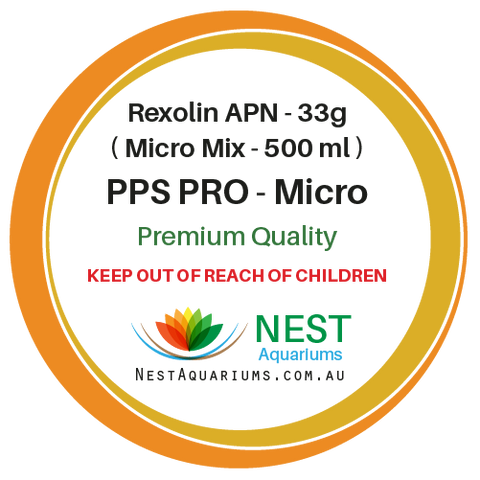 NEST - PPS-Pro Fertilizer Micro For 500ml - Dry Aquarium Fertilizers