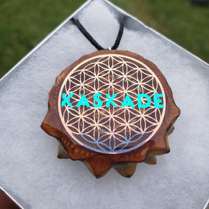 KASKADE OVER FLOWER OF LIFE PENDANT