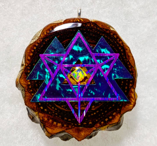 Merkabah over wakaan with opal