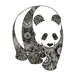 Panda Temporary Tattoo