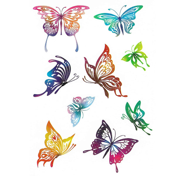 Butterflies Temporary Tattoo