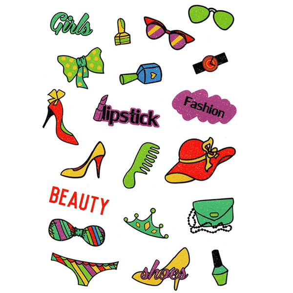 Fashionista Pop Temporary Tattoo