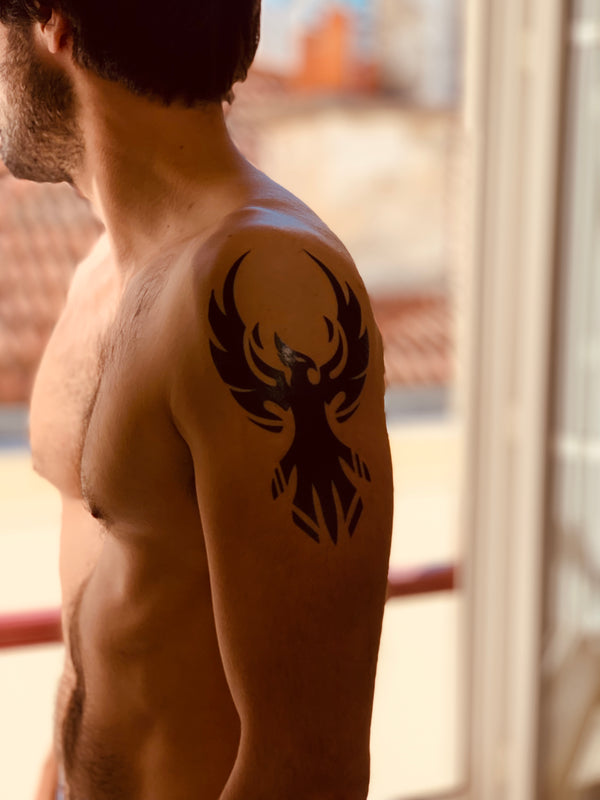 Tribal Temporary Tattoo