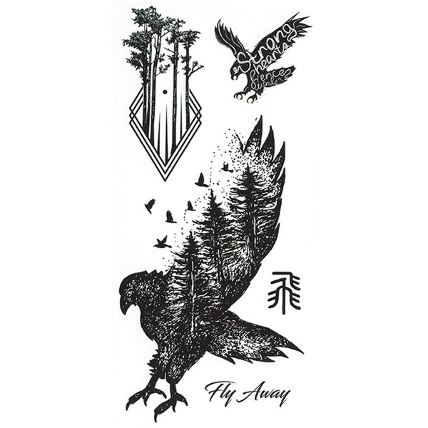 Birds Temporary Tattoo