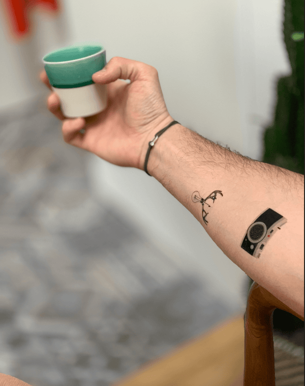 Hipster Temporary Tattoo