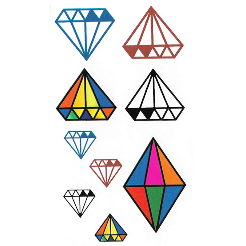 Diamond Temporary Tattoo