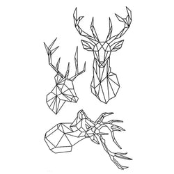 Deer Temporary Tattoo