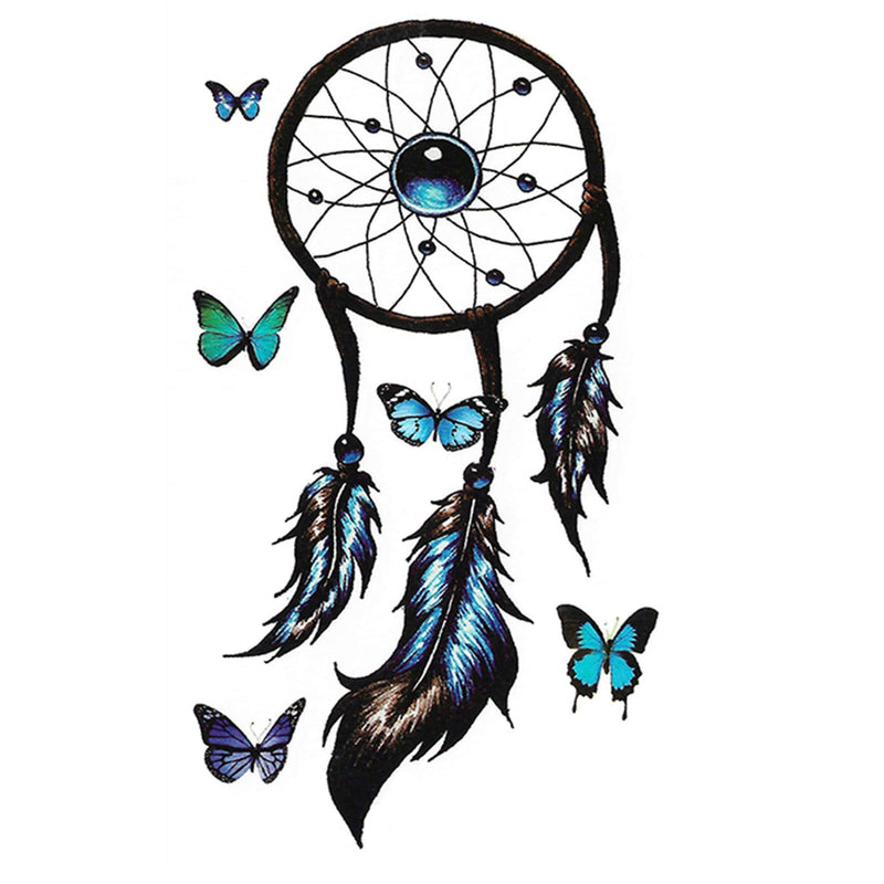 Dreamcatcher Under Boob Temporary Tattoo
