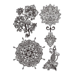 Henna Skin Jewellery Temporary Tattoo