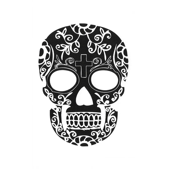 Skulls Temporary Tattoo