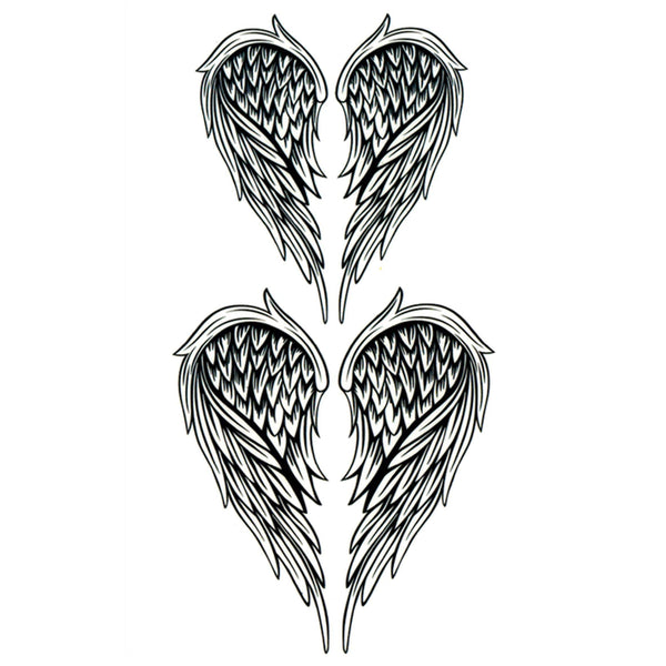 Angel wings Temporary Tattoo