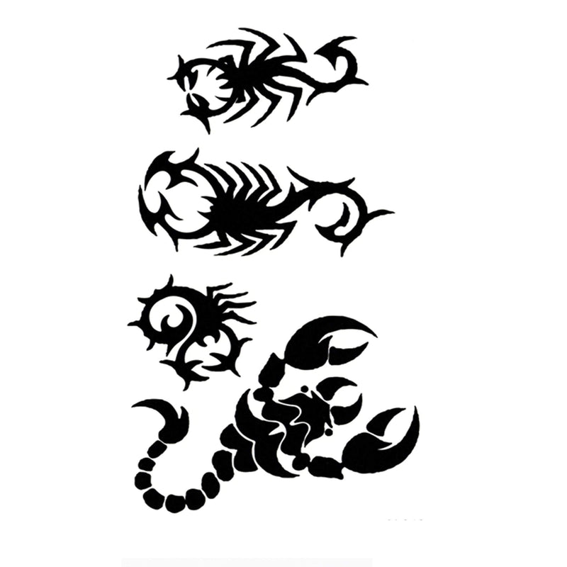 Scorpions Temporary Tattoo