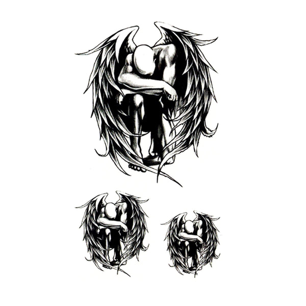 Fallen Angel Temporary Tattoo