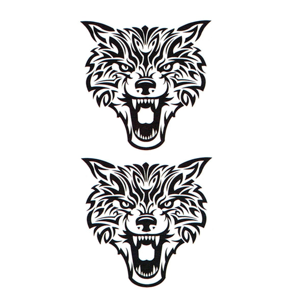 Wolf Temporary Tattoo