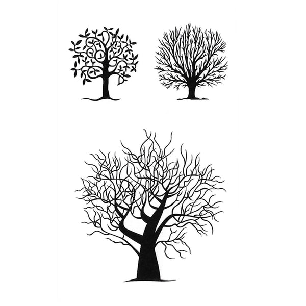 Trees Temporary Tattoo