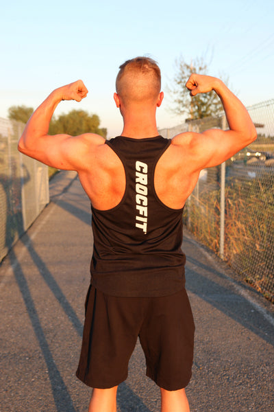 Black Stringer Tank