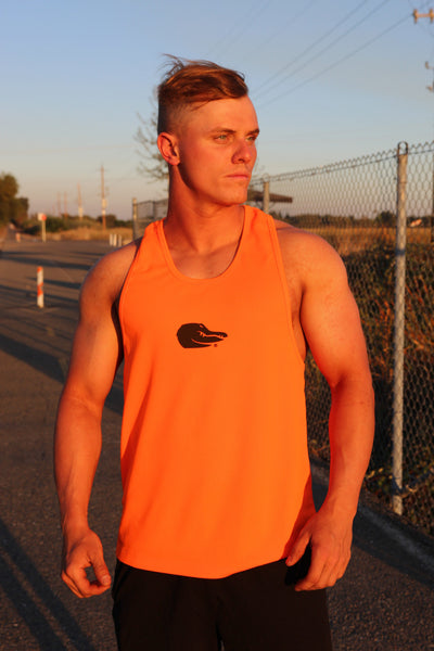 Orange Stringer Tank