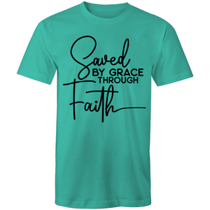 Saved by grace through faith