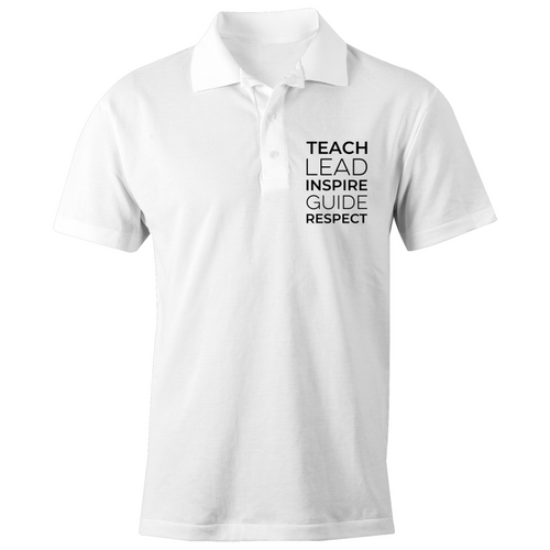 Teach, Lead, Inspire, Guide, Respect - S/S Polo Shirt