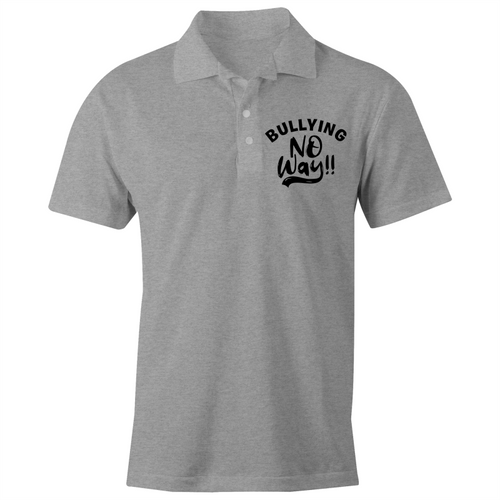 Bullying no way!! - S/S Polo Shirt