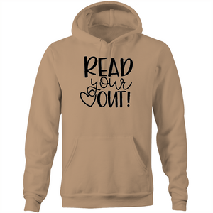 Read your heart out - Pocket Hoodie Sweatshirt