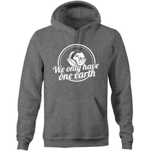 Load image into Gallery viewer, We only have one earth - Pocket Hoodie Sweatshirt