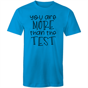 You are more than the test