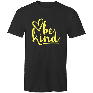 Be kind (yellow print)