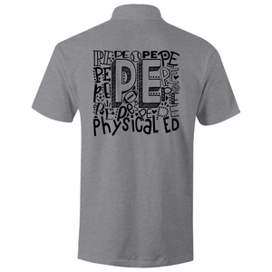 PE - Physical Education - S/S Polo Shirt (Design on back of polo shirt)