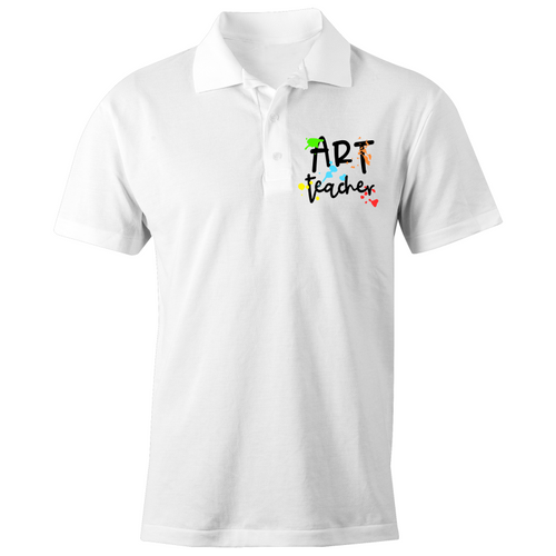 Art Teacher - S/S Polo Shirt