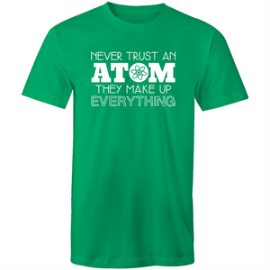 Never trust and ATOM, they make everything up