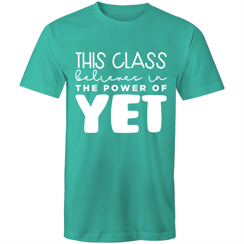This class believes in the power of yet
