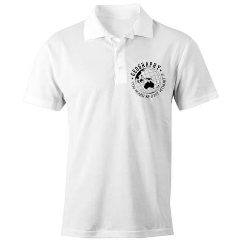 Geography, you would be lost without it - S/S Polo Shirt