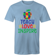 Load image into Gallery viewer, Teach love inspire - puzzle pieces