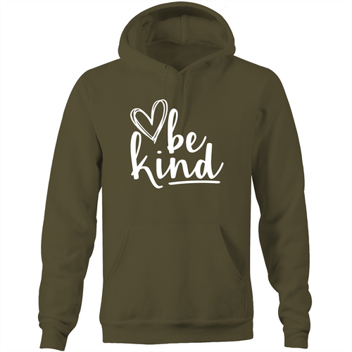 Be kind - Pocket Hoodie Sweatshirt