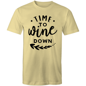 It's time to wine down