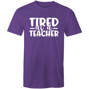 Tired as a teacher