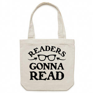 Readers gonna read - Canvas Tote Bag