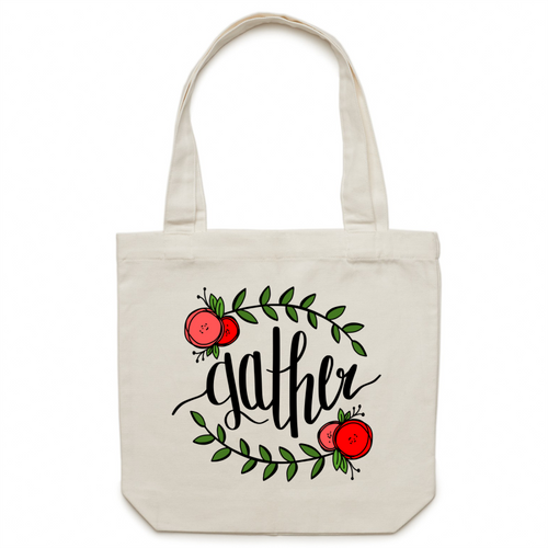Gather - Canvas Tote Bag