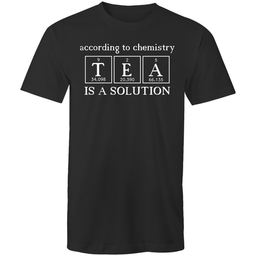 According to chemistry - TEA is a solution