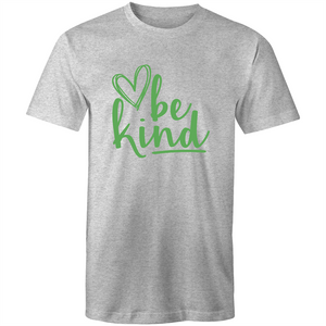 Be kind (green print)