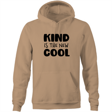 Load image into Gallery viewer, Kind is the new cool - Pocket Hoodie Sweatshirt