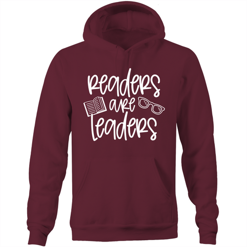 Readers are leaders - Pocket Hoodie Sweatshirt