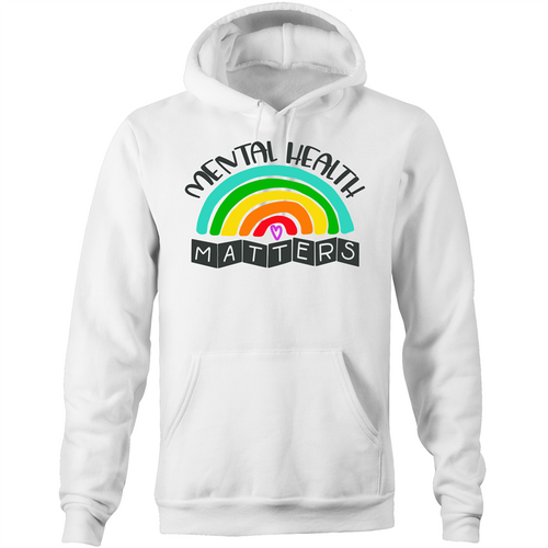 Mental Health Matters - Pocket Hoodie Sweatshirt
