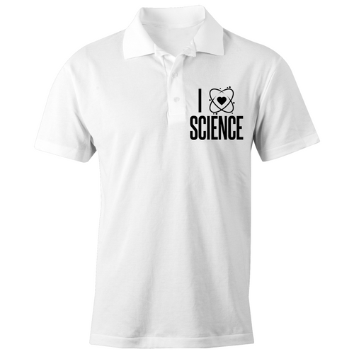I heart science - S/S Polo Shirt