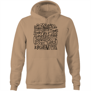 Read more books - Pocket Hoodie Sweatshirt